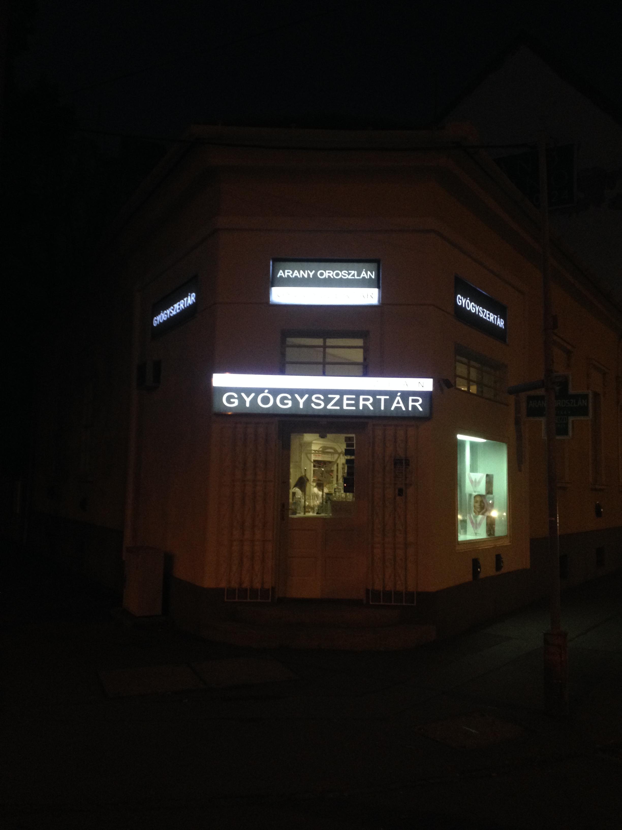 Világító tábla, LED, PROFI-L Studio Dekor.JPG
